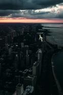 chicago sunset love
